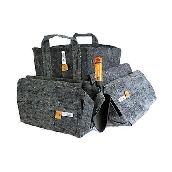 Root Pouch Variety Bundle 3 of 7 Gallon and 2 of 10 Gallon Includes Fiskars Trowel