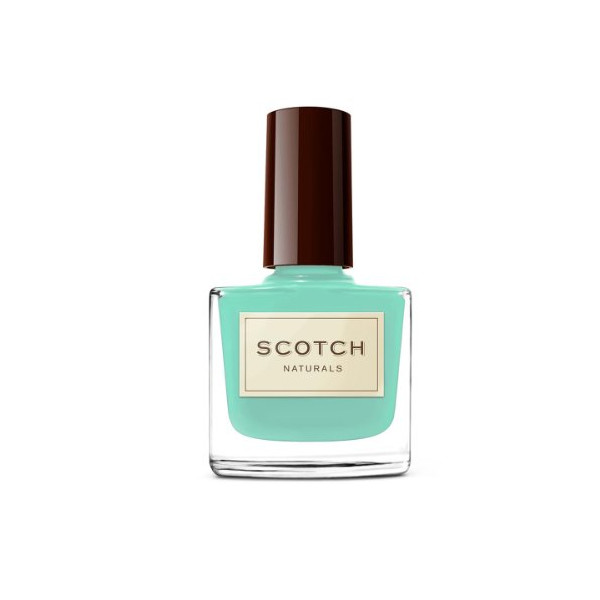 Scotch Naturals Non-Toxic Nail Polish, Leprechaun Lynch (cool mint creme)