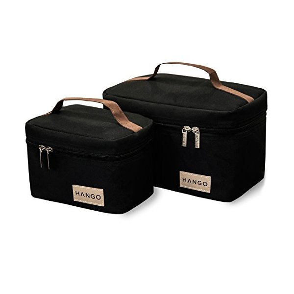 Hango Lunch Box (Set of 2 Sizes), Black
