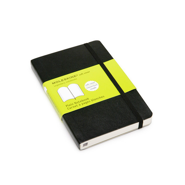 Moleskine Plain Notebook Pocket, Hardcover