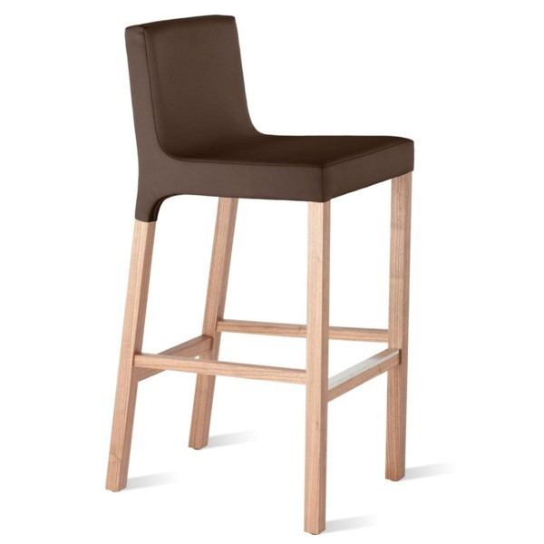Blu Dot Knicker Barstool, Chocolate
