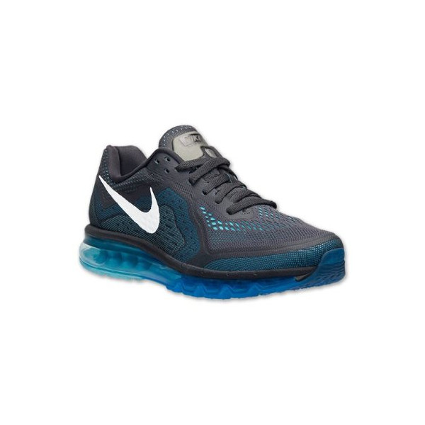 Nike Air Max 2014 Men's Shoes Anthracite/Photo Blue/Polarized Blue/Reflect Silver 621077-004 (SIZE: 12)