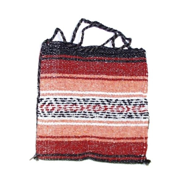 Multi Color Mexican Blanket Tote Bag