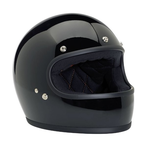 Large Gloss Black Gringo Helmet by Biltwell, Inc.