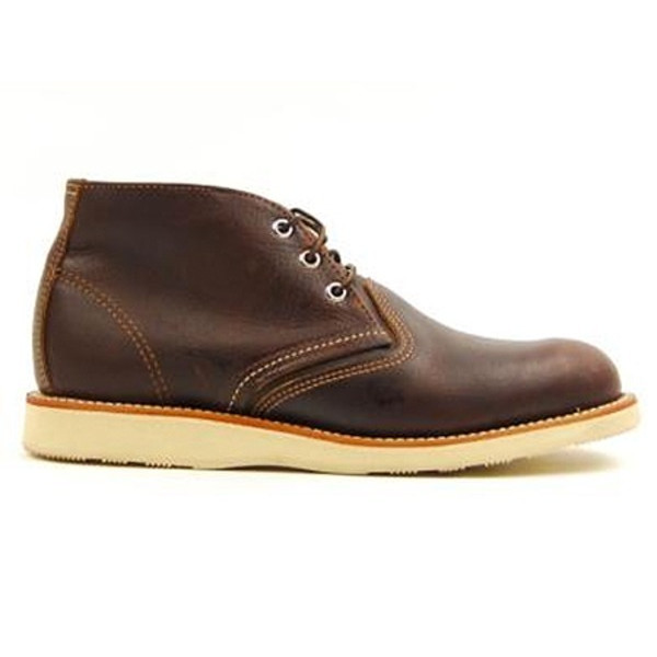 Red Wing Heritage Men's Classic Work Leather Chukka Boot, Briar Oil Slick