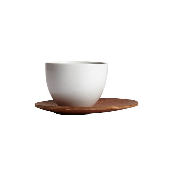 Chava Oval Wood Coaster