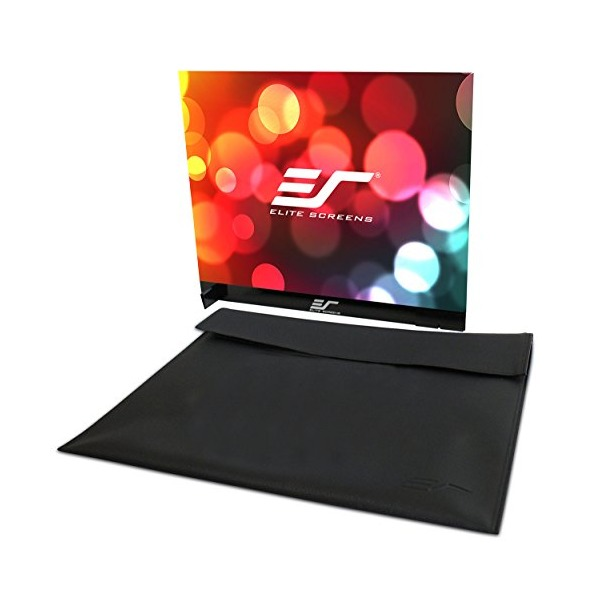 Elite Screens Pico Sport Series, Dual-Side Portable Tabletop Projection Screen, 18-Inch Diagonal 4:3, Model: PS18WG4