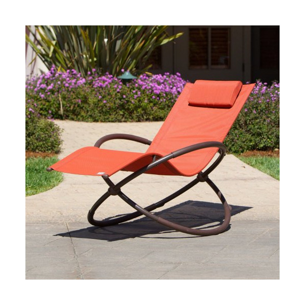RST Outdoor OP-OL04-Org Original Orbital Zero Gravity Patio Lounger