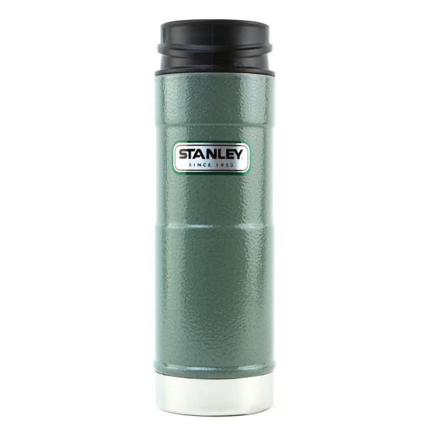 Stanley Classic One Hand Vacuum Mug 16oz/473mL,  Hammertone Green