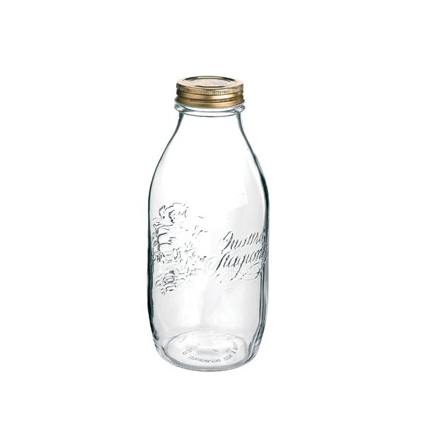 Bormioli Rocco Quattro Stagioni 33 3/4 Canning Bottle, Set of 12
