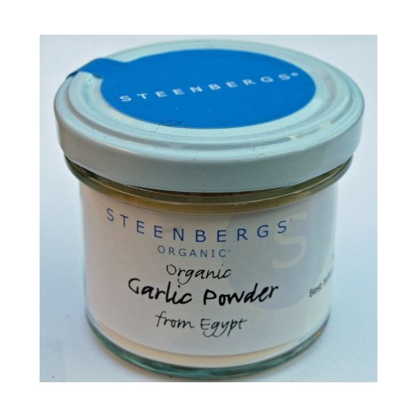 Organic Garlic Powder Standard Jar - 55g