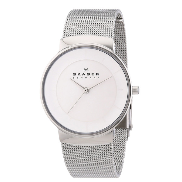 Skagen Klassik Womens Three-Hand Stainless Steel Watch