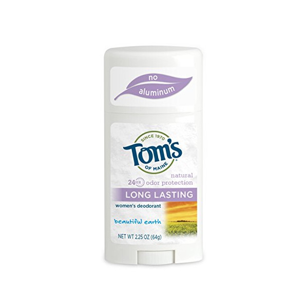 Tom's of Maine Long-Lasting Care Deodorant Stick, Beautiful Earth - 2.25 oz