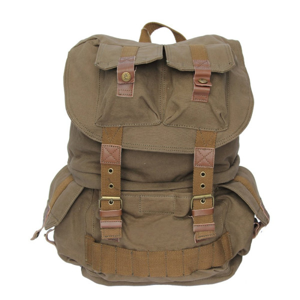 Koolertron Canvas DSLR SLR Camera Bag / Backpack