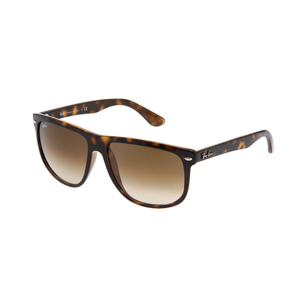 Ray-Ban Flat Top Boyfriend Sunglasses, Non-Polarized, Tortoise