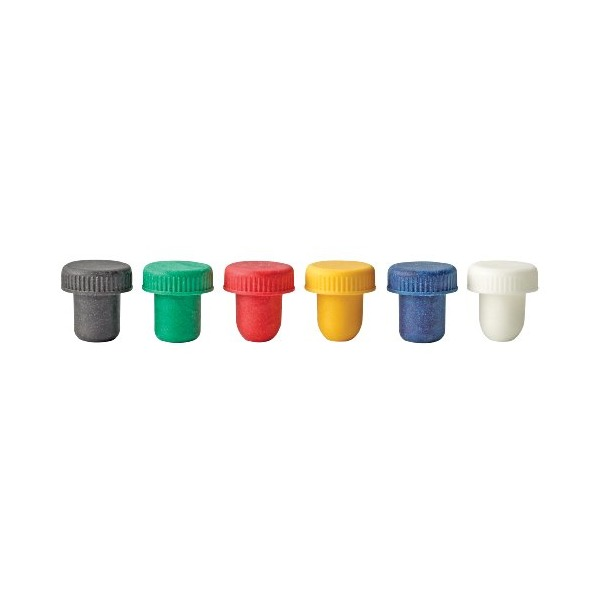 Beltappo Low Profile Cork-Free Wine Stopper, Set of 6