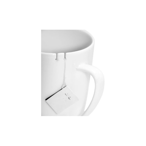 le mouton noir & co Tie Tea for Left Handed Person, White