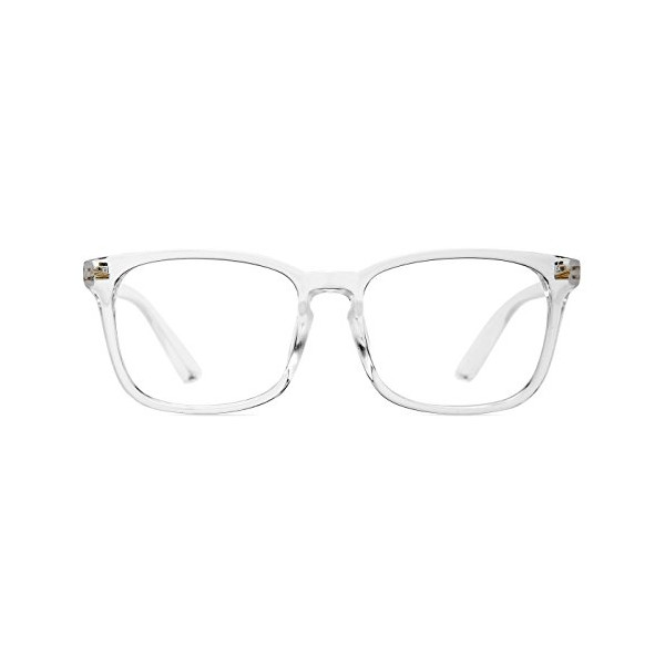 Canopy.co: TIJN Chic Transparent Clear Frame Wayfarer Glass Rx-able ...