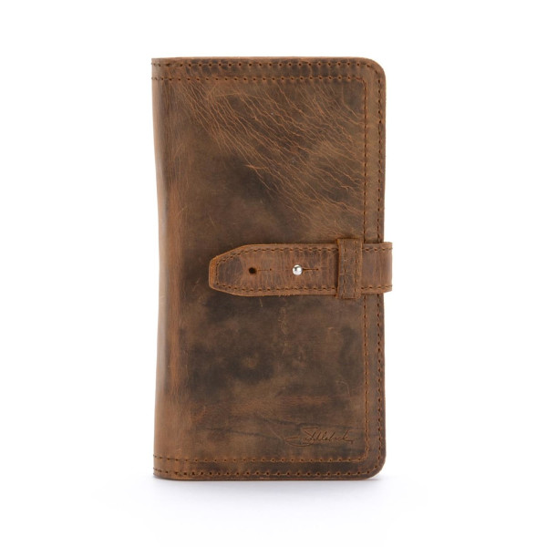 Saddleback Leather Big Wallet, Tobacco