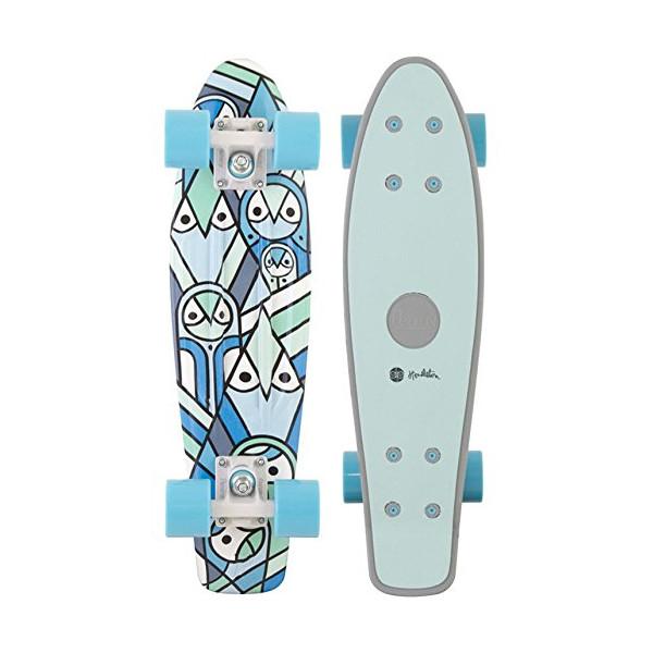 "Penny Pendleton Complete Skateboard, Grey, 22"" L"