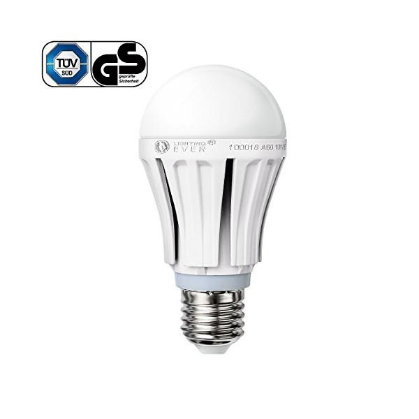 Lighting EVER 10 Watt A19 LED Bulb, Brightest 60 Watt Incandescent Bulbs Replacement, 810lm, High Performance Samsung LED, Warm White