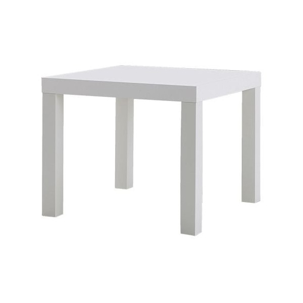 Ikea Side Table, White