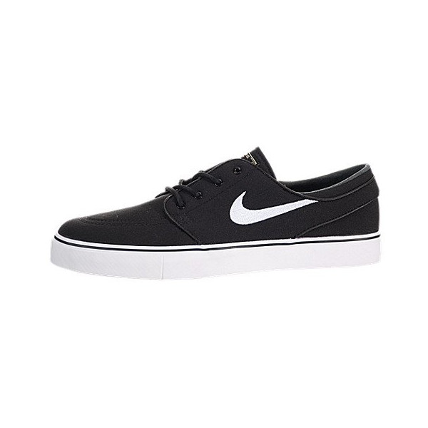 Nike Men's Zoom Stefan Janoski CNVS Blk/White/Gm Lght Skate Shoe 8.5 Men US