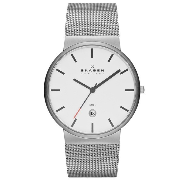 Skagen Men's Klassik Stainless Steel Watch, 39mm
