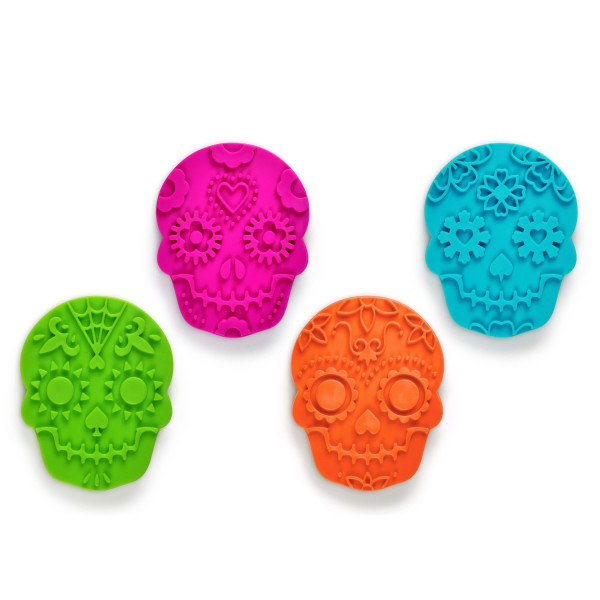 Fred and Friends SWEET SPIRITS Day of the Dead Cookie Cutter/Stampers, Set of 4