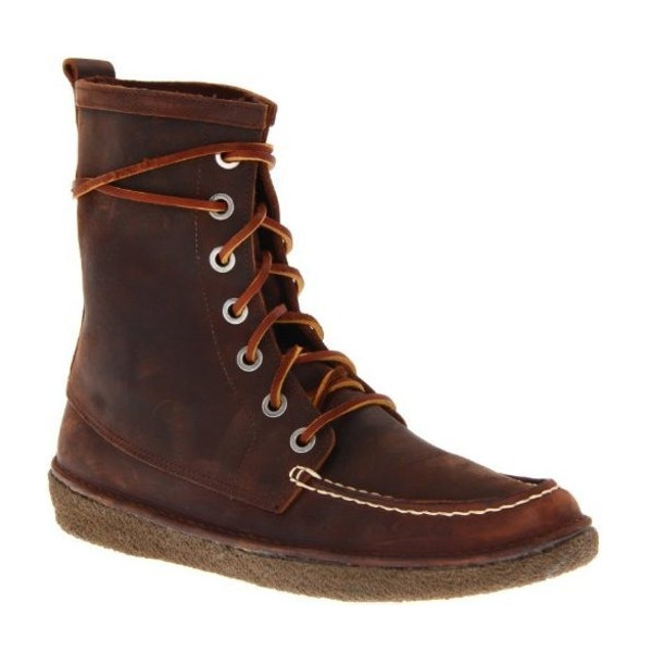 SeaVees Men's Eye Trail Boot, Walnut