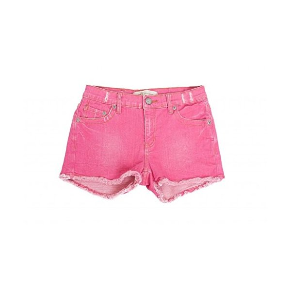 Passion Fruit Mini Cutoff Shorts for Women by m2f-Pink-26