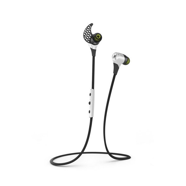 JayBird BlueBuds X Sport Bluetooth Headphones - Storm White
