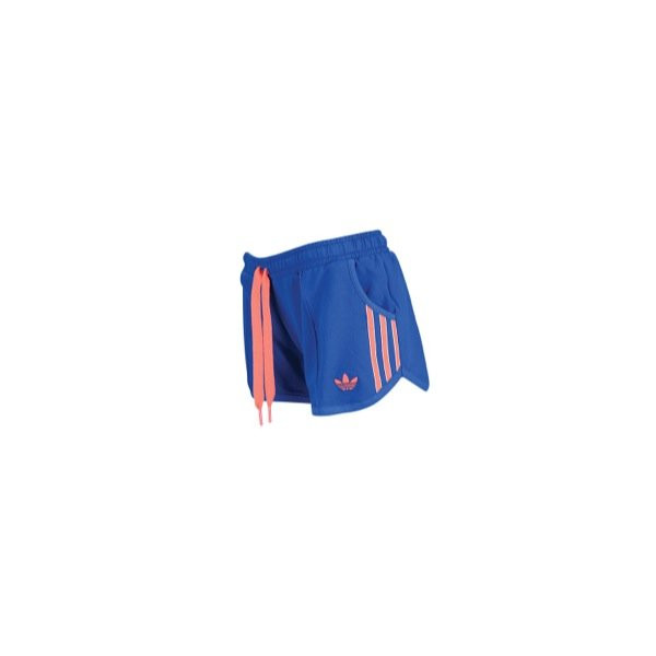 adidas Originals Womens Perfect Short Large True Blue/Red Zest/White