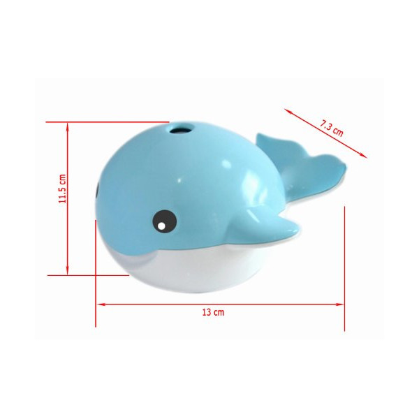 Cute Whale Shape Cool Mist Humidifier USB Mini Humidifier Air Humidifier Blue