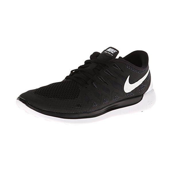 Nike Women's Free 5.0 Black/White/Anthracite Running Shoe 9 Women US