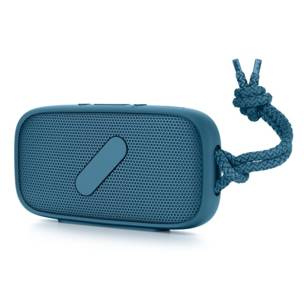 NudeAudio Super-M Portable Wireless Bluetooth Speaker, Petrol