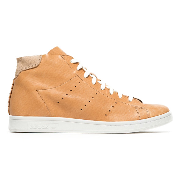 Adidas Stan Smith Mid High Top, Horween Leather Pack