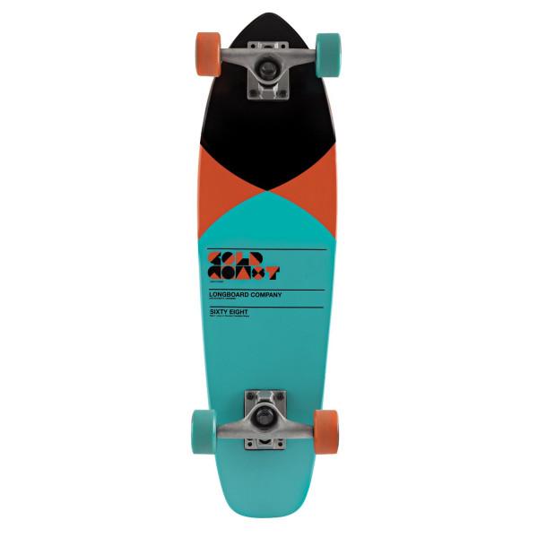 Goldcoast Complete Longboard-Pier-Shovel Skateboard