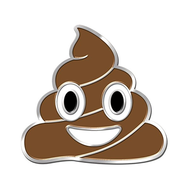 iPhone Emoji Pin | Pile of Poo / Poop | FAST FREE SHIPPING