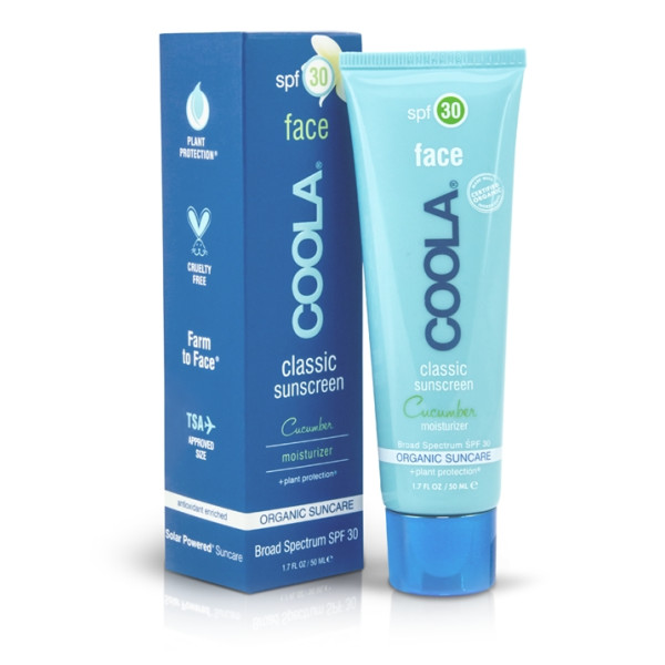 Coola spf 30 Cucumber Face Moisturizing Sunscreen 1.7 oz