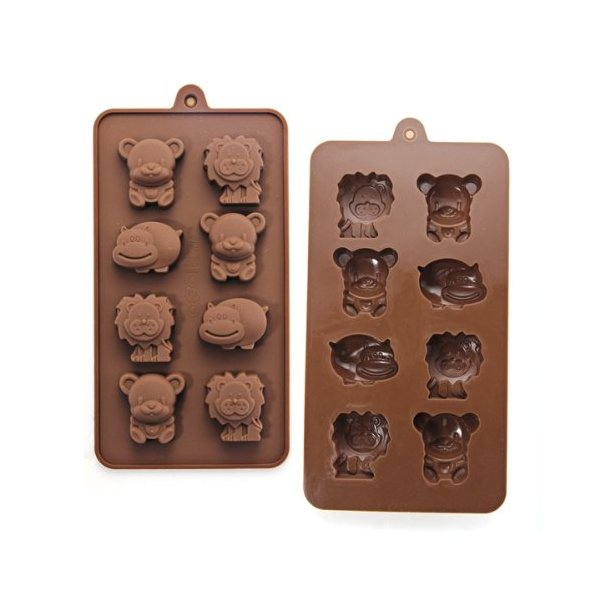 Silicone Animal Chocolate Sweet Candy Soap Ice Cube Tray Mould Mold DIY