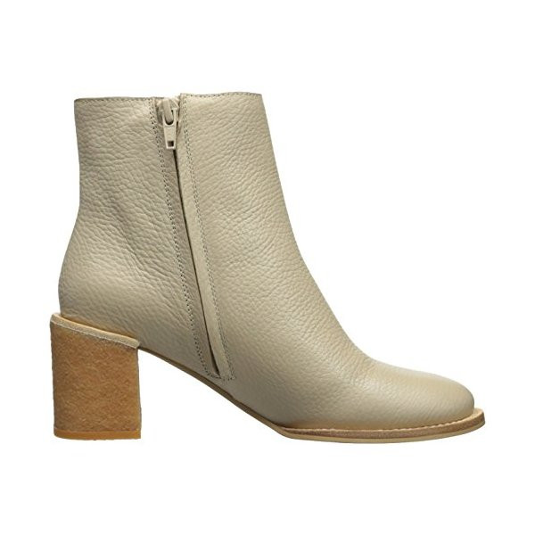 See by Chloe Stacked Heel Ankle Boot, Taupe