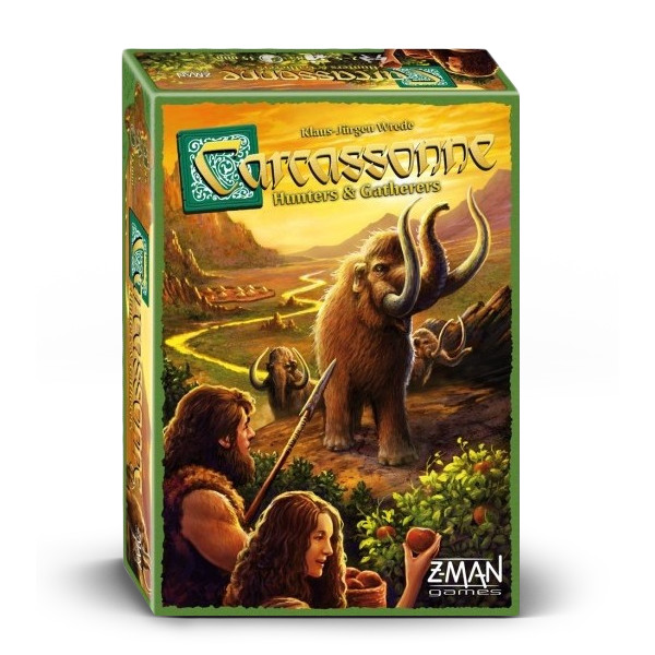 Carcassonne Hunters and Gatherers Board Game