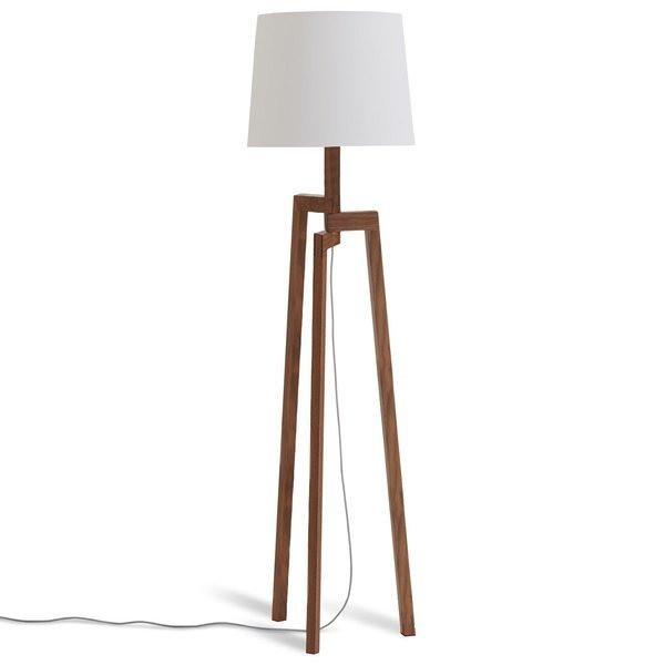 Blu Dot Stilt Floor Lamp, Walnut