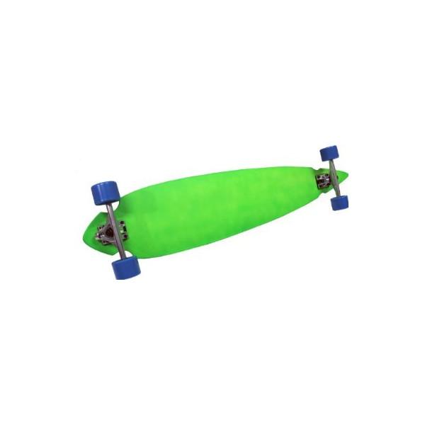PINTAIL LONGBOARD Complete Skateboard - 180mm Trucks & 70mm Wheels