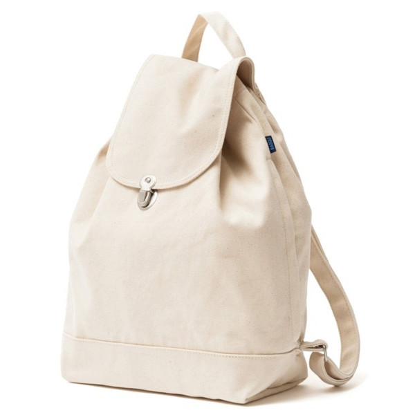 BAGGU Backpack Everyday Canvas Daypack Cavas