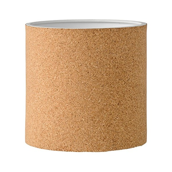Bloomingville Round Ceramic and Cork Flower Pot