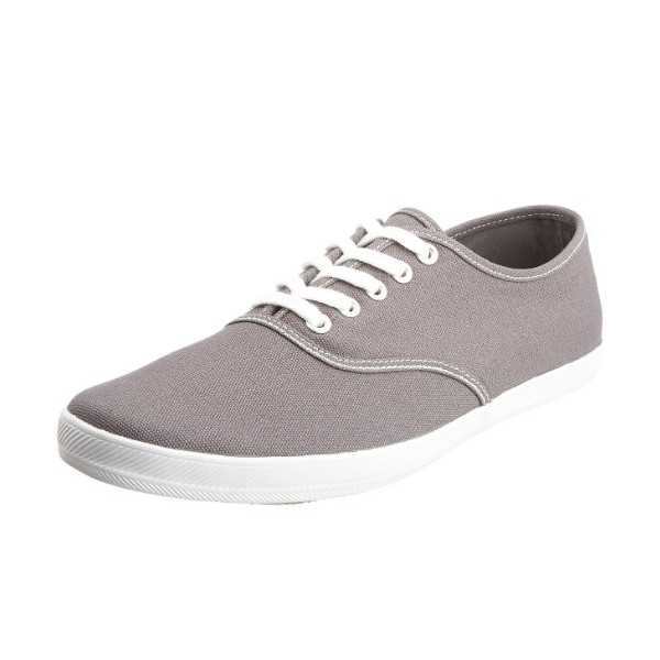 Keds Men's Champion Canvas Sneaker,Steel Grey,10 M US