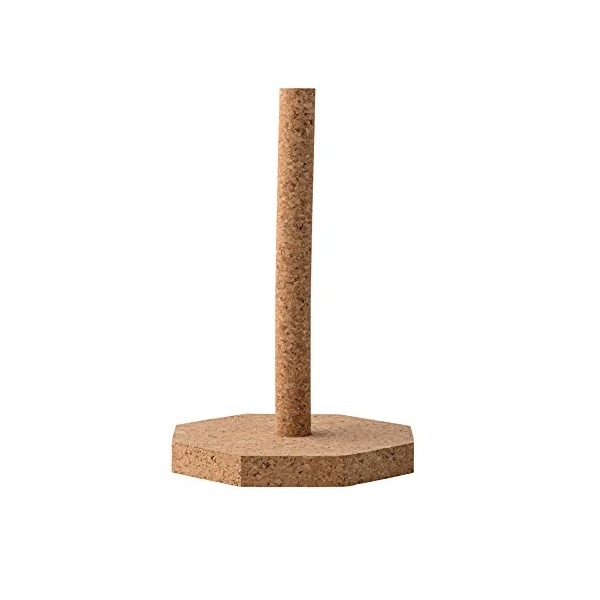 Bloomingville Cork Paper Towel Holder, Brown