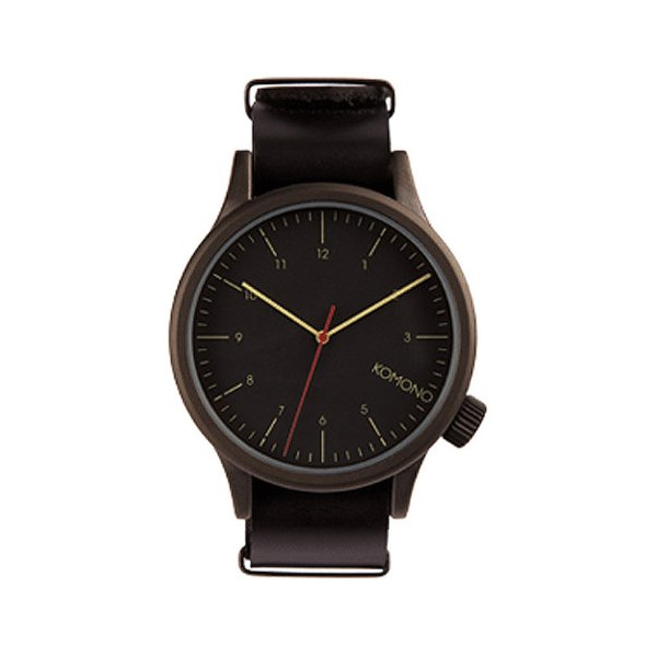 Komono Watch - The One - Black